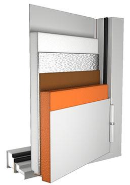 Для шумоизоляции помещения материалы стен